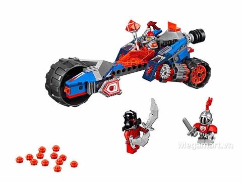 Lego Nexo Knights 70319 - Chùy sấm sét của Macy - toàn cảnh bộ đồ chơi