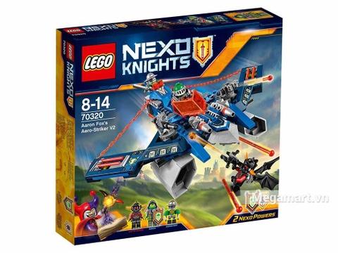 Lego Nexo Knights 70320 - Cỗ máy bắn cung của Aaron với các sức mạnh thú vị