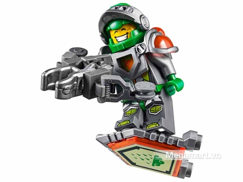 Lego Nexo Knights 70320 - Cỗ máy bắn cung của Aaron - chiến binh Aaron