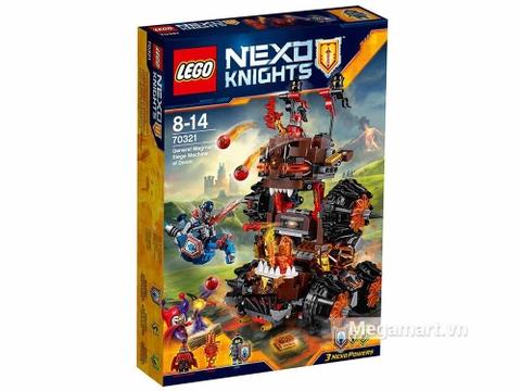 Hình ảnh vỏ hộp bộ Lego Nexo Knights 70321 - Cỗ máy hủy diệt của quỷ nham thạch