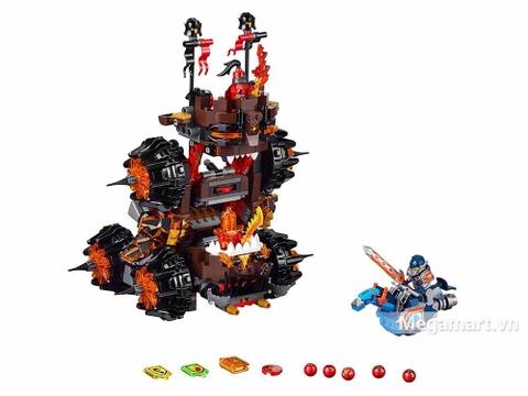 Các mô hình ấn tượng trong bộ Lego Nexo Knights 70321 - Cỗ máy hủy diệt của quỷ nham thạch