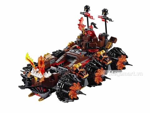 Lego Nexo Knights 70321 - Cỗ máy hủy diệt của quỷ nham thạch - cỗ xe hầm hố