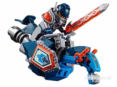 Lego Nexo Knights 70321 - Cỗ máy hủy diệt của quỷ nham thạch - nhân vật Clay