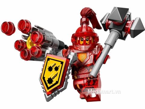 Lego Nexo Knights 70331 - Hiệp sĩ Macy - mô hình hoàn thiện ấn tượng