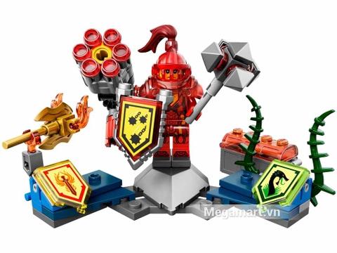 Lego Nexo Knights 70331 - Hiệp sĩ Macy - toàn bộ các chi tiết