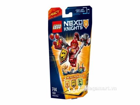 Lego Nexo Knights 70331 - Hiệp sĩ Macy với các sức mạnh thú vị