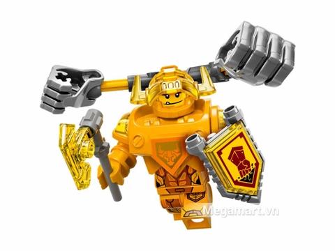 Lego Nexo Knights 70336 - Hiệp sĩ Axl - nhân vật chính của bộ đồ chơi