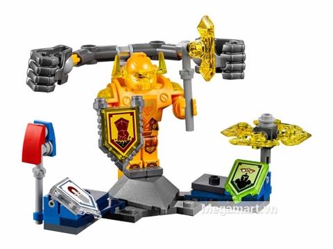 Lego Nexo Knights 70336 - Hiệp sĩ Axl - toàn bộ các chi tiết