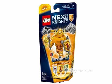 Lego Nexo Knights 70336 - Hiệp sĩ Axl với các sức mạnh thú vị
