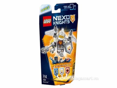 Thông tin chung bộ xếp hình Lego Nexo Knights 70337 - Hiệp sĩ Lance