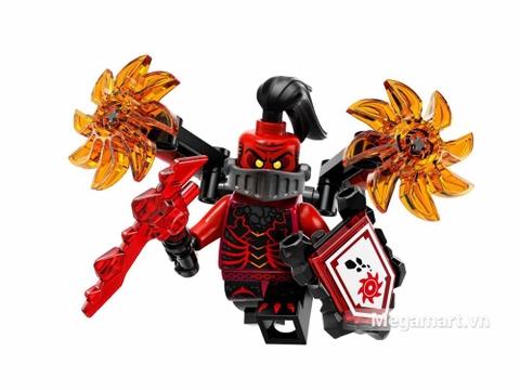 Lego Nexo Knights 70338 - Quỷ mắc ma - nhân vật chính