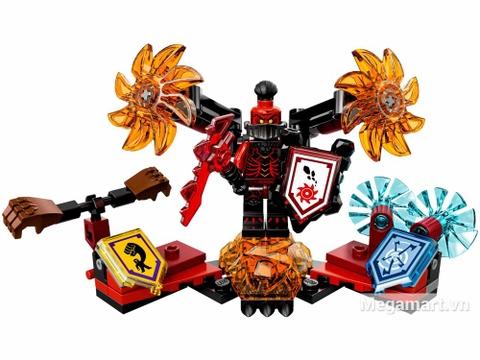 Lego Nexo Knights 70338 - Quỷ mắc ma - toàn bộ các chi tiết