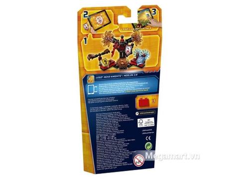 Lego Nexo Knights 70338 - Quỷ mắc ma - vỏ bìa sau sản phẩm