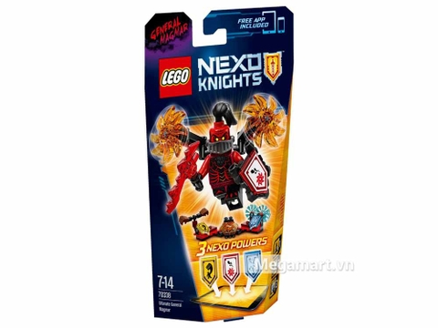 Lego Nexo Knights 70338 - Quỷ mắc ma với các sức mạnh thú vị