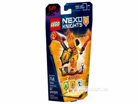 Lego Nexo Knights 70339 - Quỷ Flama với các sức mạnh thú vị
