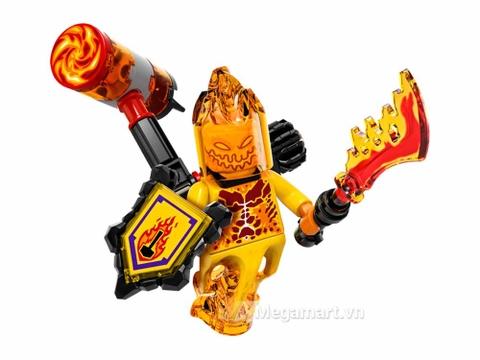 Lego Nexo Knights 70339 - Quỷ Flama - nhân vật quỷ Flama