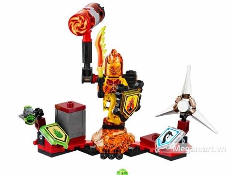 Lego Nexo Knights 70339 - Quỷ Flama - toàn cảnh sản phẩm