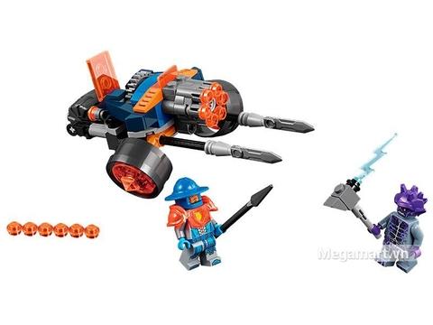 Các mô hình ấn tượng trong bộ Lego Nexo Knights 70347 - Pháo binh hoàng gia