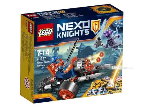 Hình ảnh vỏ hộp bộ Lego Nexo Knights 70347 - Pháo binh hoàng gia