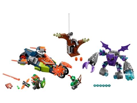 Các mô hình ấn tượng trong bộ Lego Nexo Knights 70358 - Cỗ máy đá của Aaron