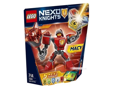 Lego Nexo Knights 70363 - Chiến giáp  Macy tham gia các trận chiến với độ khó cao hơn