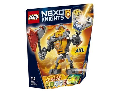 Lego Nexo Knights 70365 - Chiến Giáp Axl với các sức mạnh thú vị