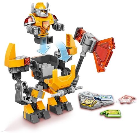 Lego Nexo Knights 70365 - Chiến Giáp Axl đầy sức mạnh
