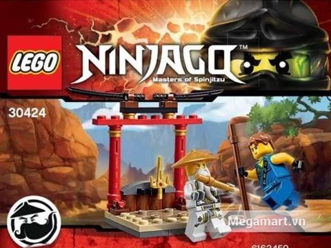 Ảnh bìa sản phẩm Lego Ninjago 30424 - Lớp dạy võ Wu-Cru