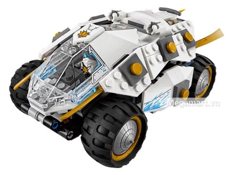 Các mô hình ấn tượng trong bộ Lego Ninjago 70588 - Cỗ xe Titan của Ninja