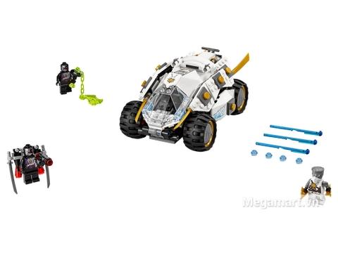 Lego Ninjago 70588 - Cỗ xe Titan của Ninja - toàn bộ các chi tiết chính