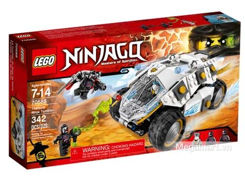 Hình ảnh vỏ hộp bộ Lego Ninjago 70588 - Cỗ xe Titan của Ninja