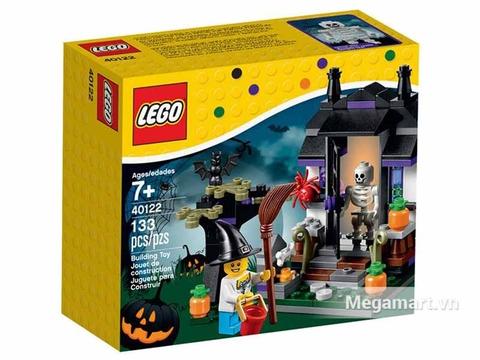 Vỏ hộp Lego Seasonal 40122 - Cho kẹo hay bị ghẹo