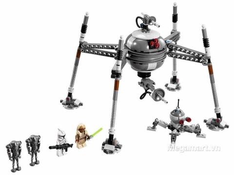 Toàn bộ chi tiết trong Lego Star Wars 75016 - Ro Bốt Nhện
