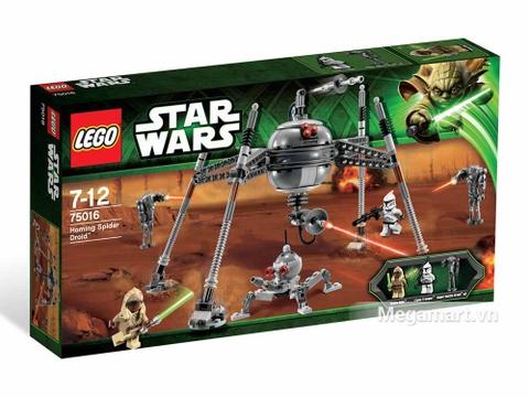 Hình ảnh vỏ ngoài của Lego Star Wars 75016 - Ro Bốt Nhện