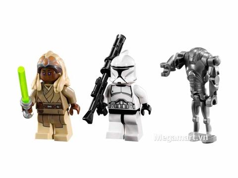 Lego Star Wars 75016 - Ro Bốt Nhện - các nhân vật chính