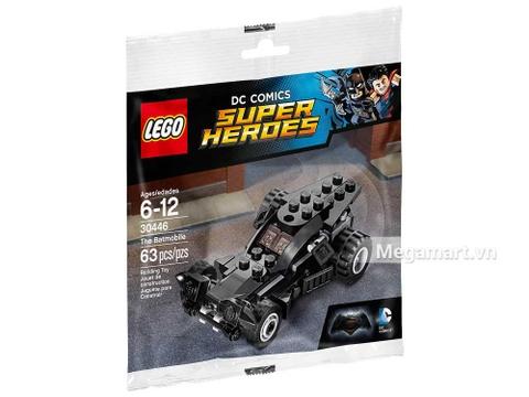 Hình ảnh vỏ ngoài của Lego Super Heroes 30446 - Xe Hơi Của Batman