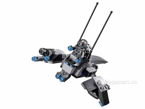 Lego Super Heroes 76029 - Iron Man Đối Đầu Ultron - phi thuyền chiến đấu