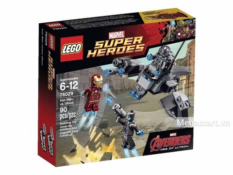 Lego Super Heroes 76029 - Iron Man Đối Đầu Ultron - ảnh bìa sản phẩm