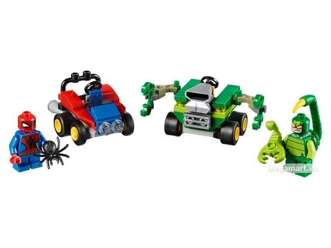 Các mô hình ấn tượng trong bộ Lego Super Heroes 76071 - Người nhện đại chiến Scorpion