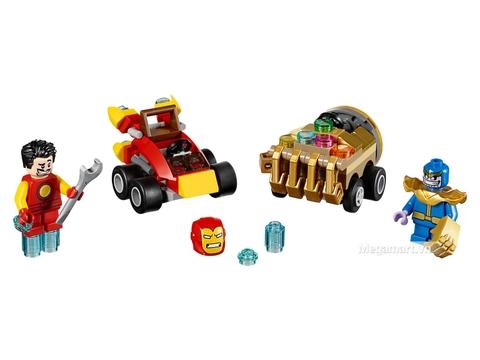 Các mô hình ấn tượng trong bộ Lego Super Heroes 76072 - Người sắt đại chiến Thanos
