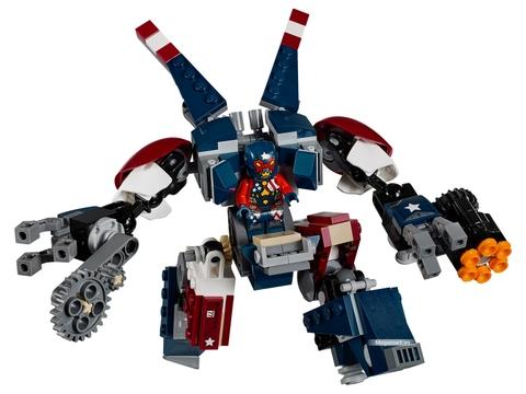 Những điểm đặc biệt trong bộ Lego Super Heroes 76077 - Iron Man Detroit Steel trỗi dậy