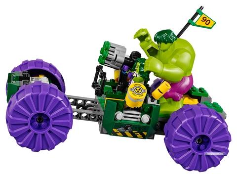Cùng chứng kiến cuộc đối đầu giữa 2 nhân vật Huk trong bộ Lego Super Heroes 76078 - Cuộc chiến hai kẻ khổng lồ