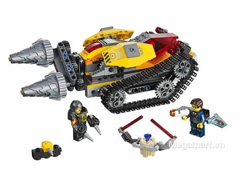 Lego Ultra Agents 70168 - Máy khoan kim cương - toàn bộ các chi tiết