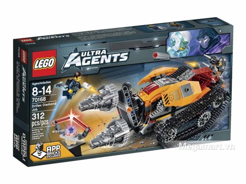 Lego Ultra Agents 70168 - Máy khoan kim cương - ảnh bìa sản phẩm