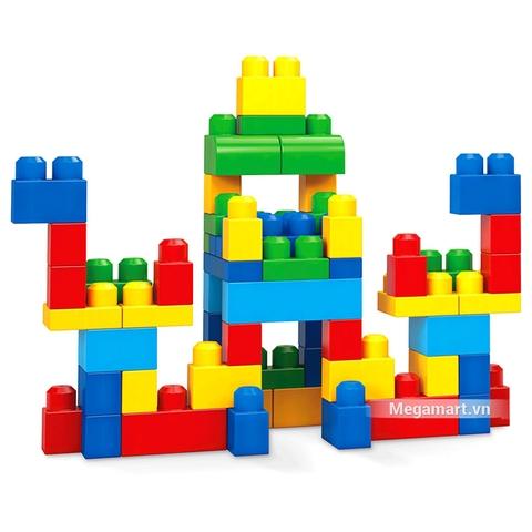 Các mô hình ấn tượng trong bộ Mega Bloks Xếp khối cơ bản túi lớn (60 khối)