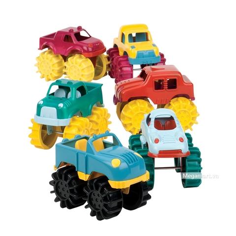 Thiết kế ấn tượng của Battat Bộ 6 xe tải răng cưa