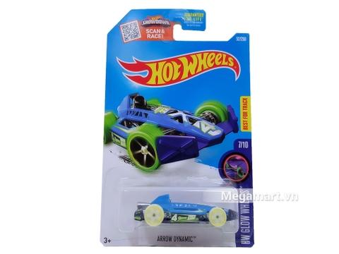 Hình ảnh vỏ hộp bộ Hot Wheels Arrow Dynamic