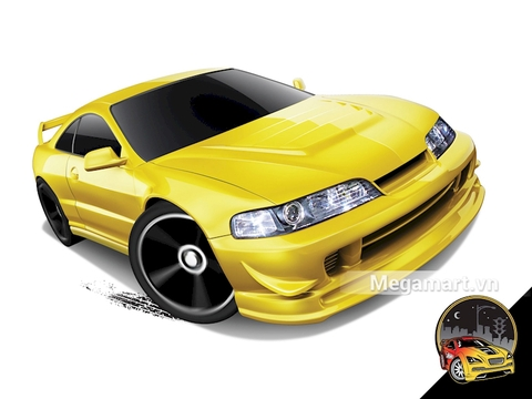 Điểm đặc biệt trong thiết kế của Hot Wheels Custom '01 Acura Integra GSR