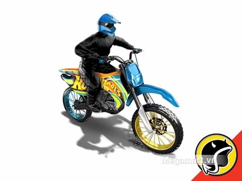 Hot Wheels HW450F - dựng cảnh 3D của bộ đồ chơi
