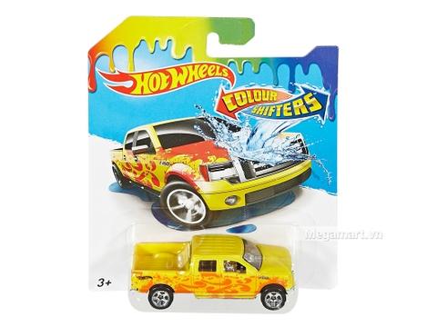 Hot Wheels Xe đổi màu Ford F-150 - đồ chơi cho bé yêu xe